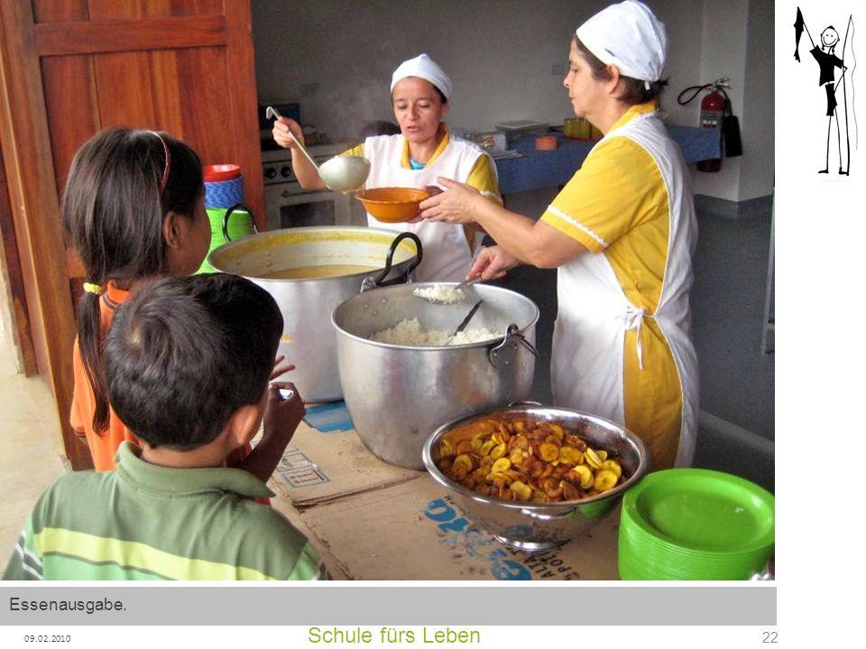 Essenausgabe. Schule fürs Leben 09.02.2010