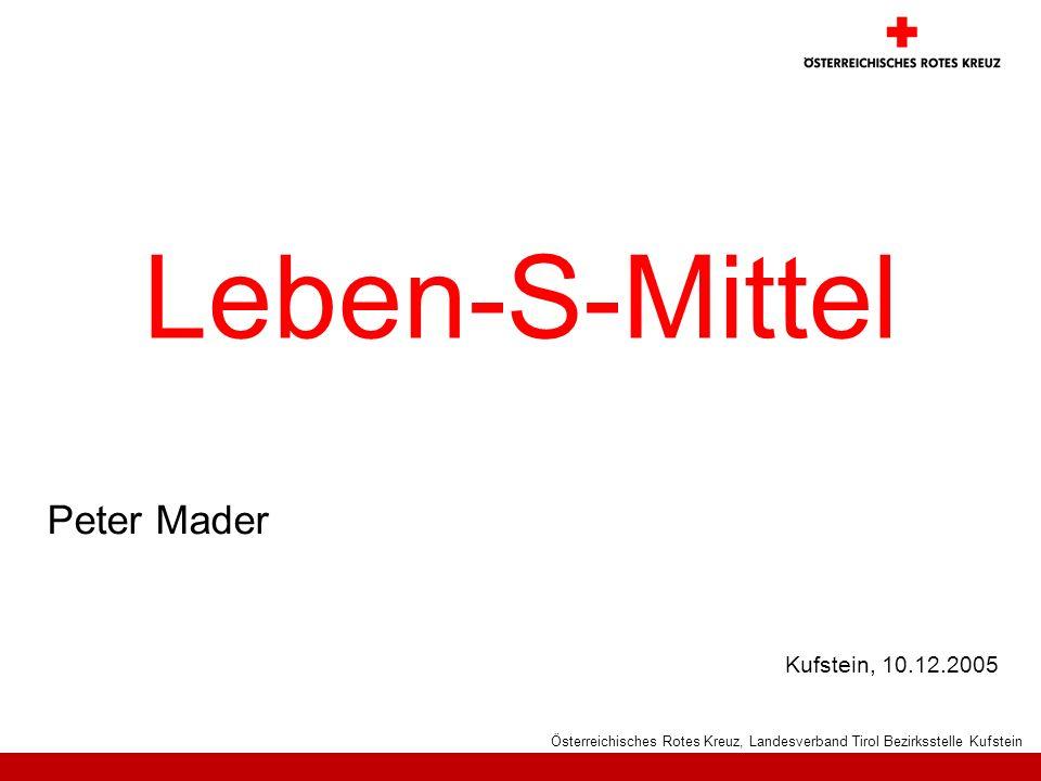 Leben-S-Mittel Peter Mader