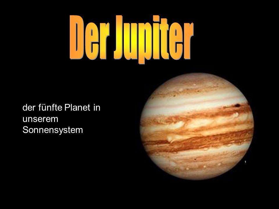 Der Jupiter der fünfte Planet in unserem Sonnensystem 1