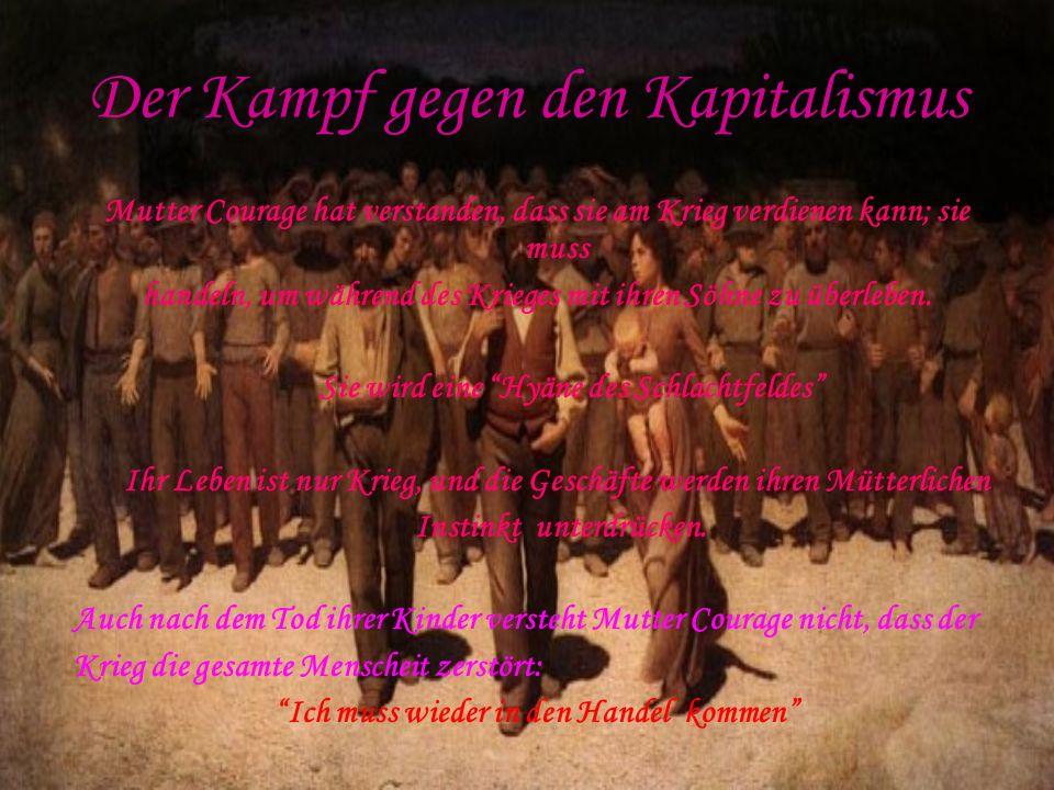 Der Kampf gegen den Kapitalismus