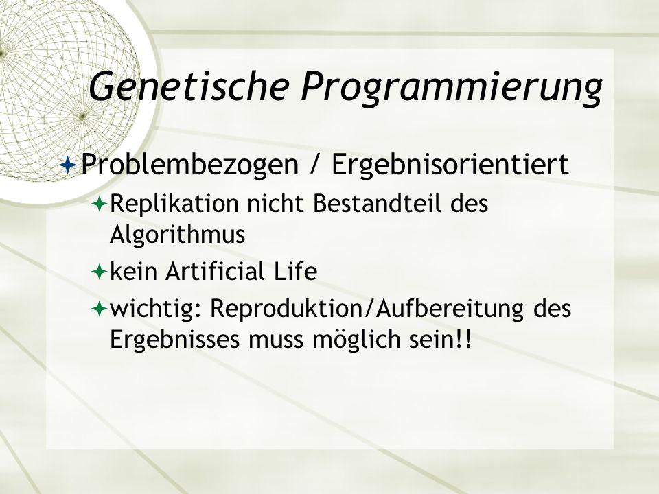 Genetische Programmierung