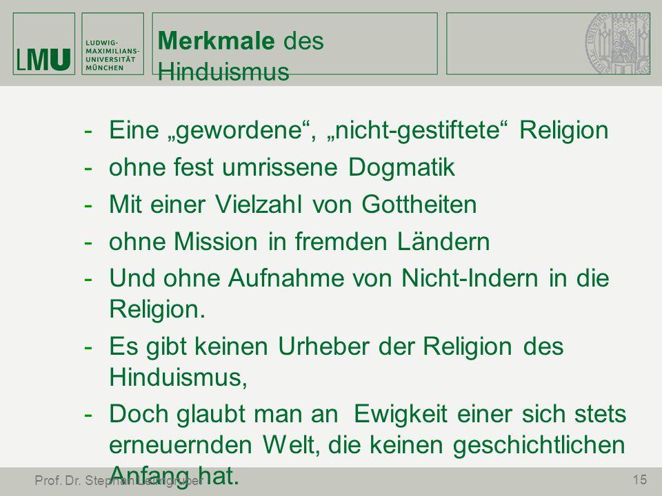 Merkmale des Hinduismus