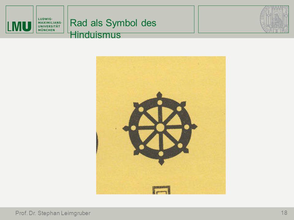 Rad als Symbol des Hinduismus