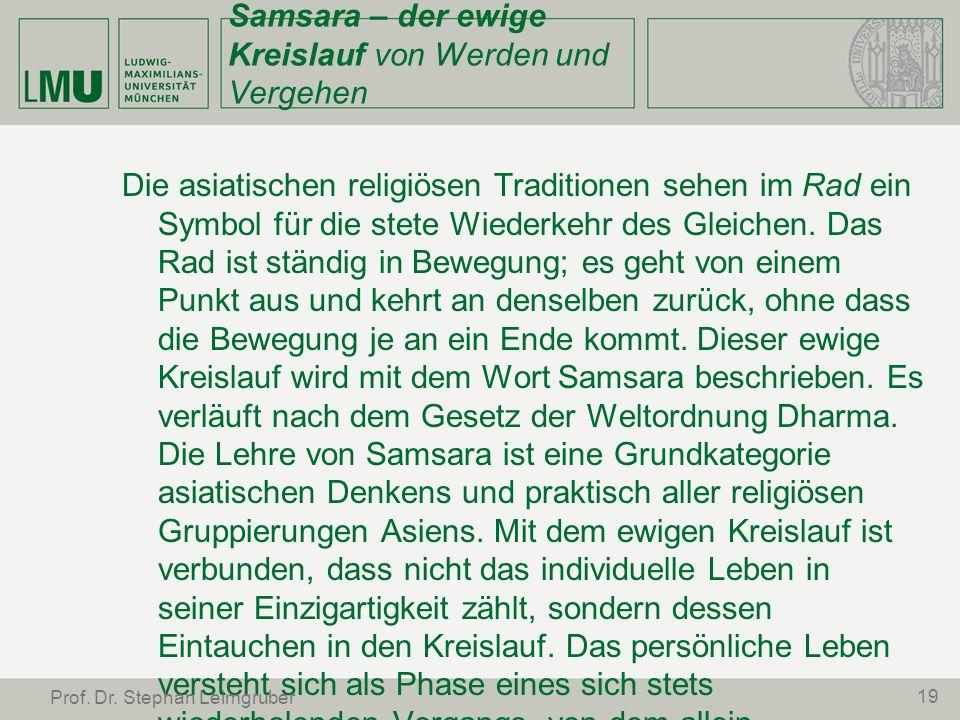 Samsara – der ewige Kreislauf von Werden und Vergehen
