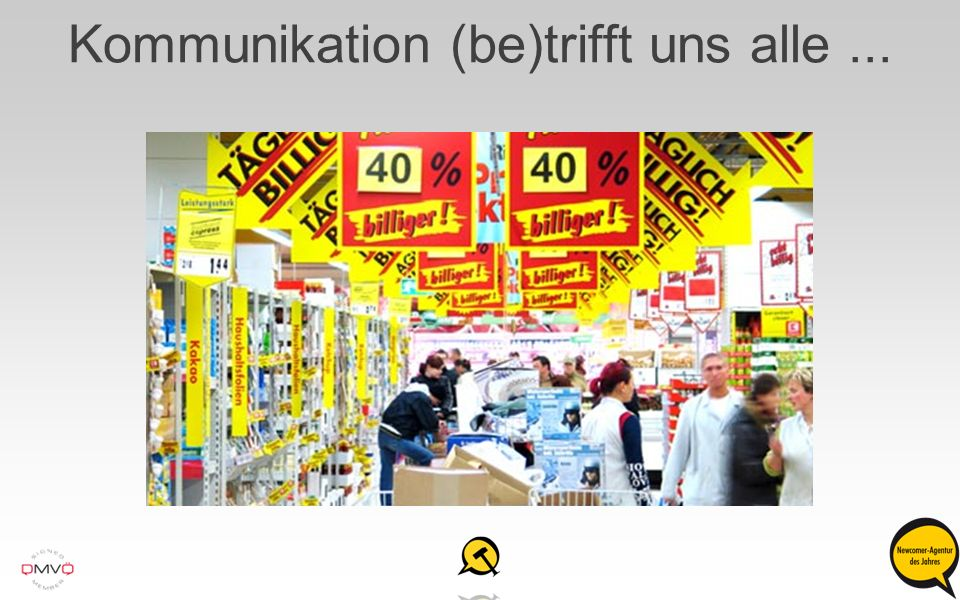 Kommunikation (be)trifft uns alle ...