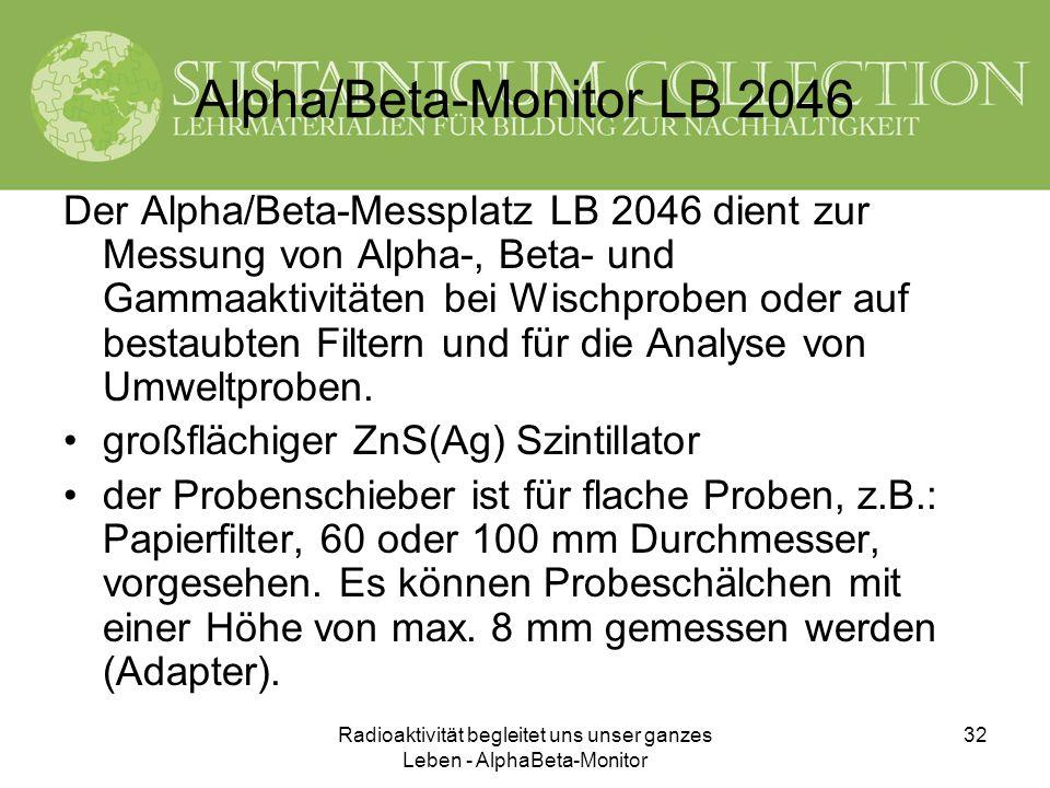 Alpha/Beta-Monitor LB 2046