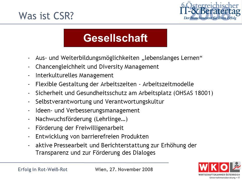 Gesellschaft Was ist CSR