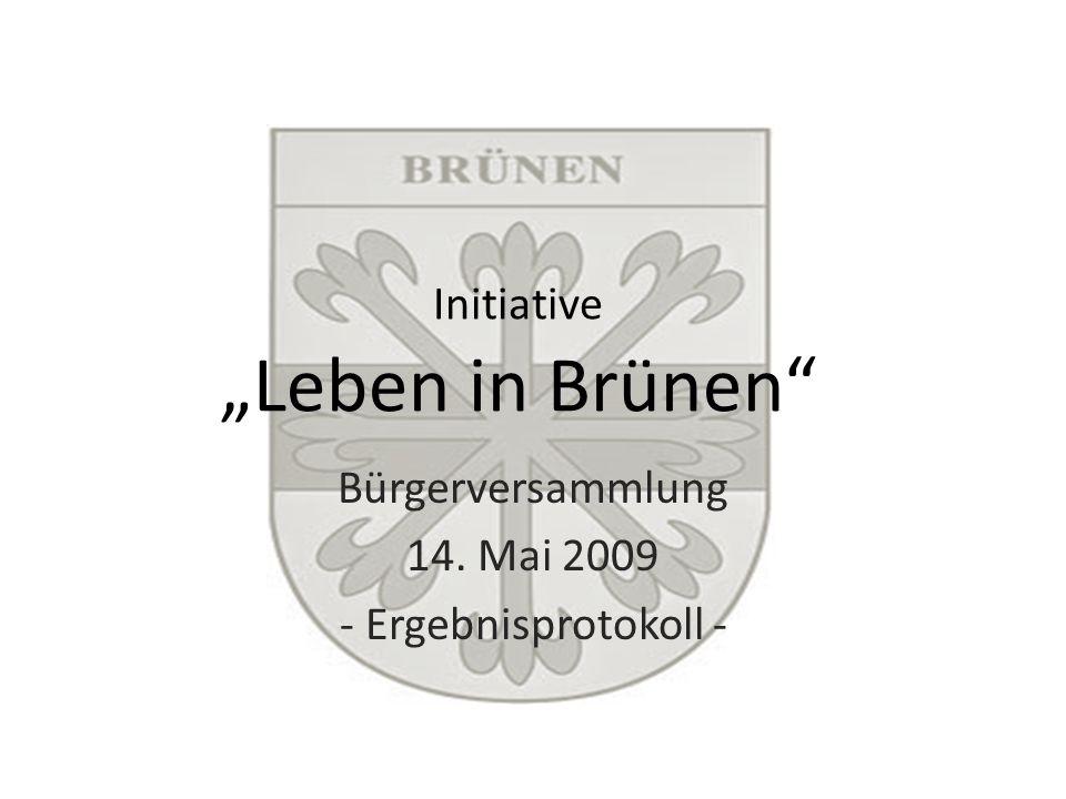 """Initiative """"Leben in Brünen"""
