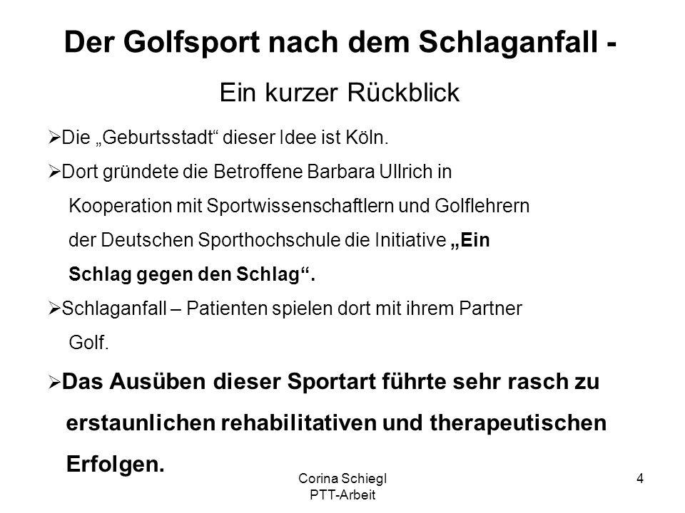 Der Golfsport nach dem Schlaganfall -