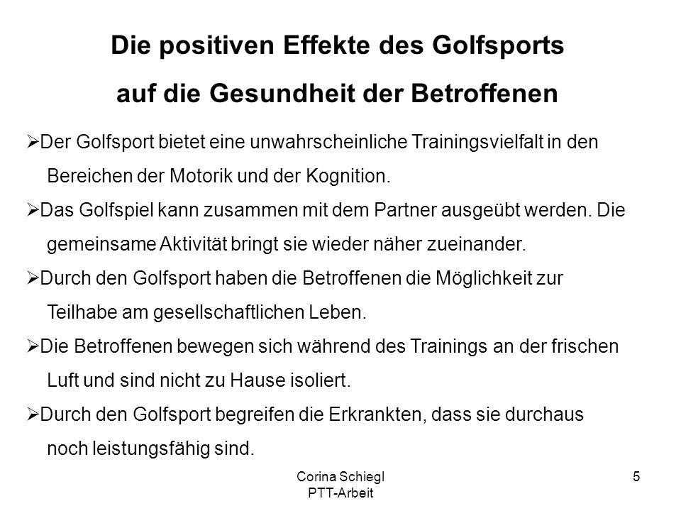 Die positiven Effekte des Golfsports