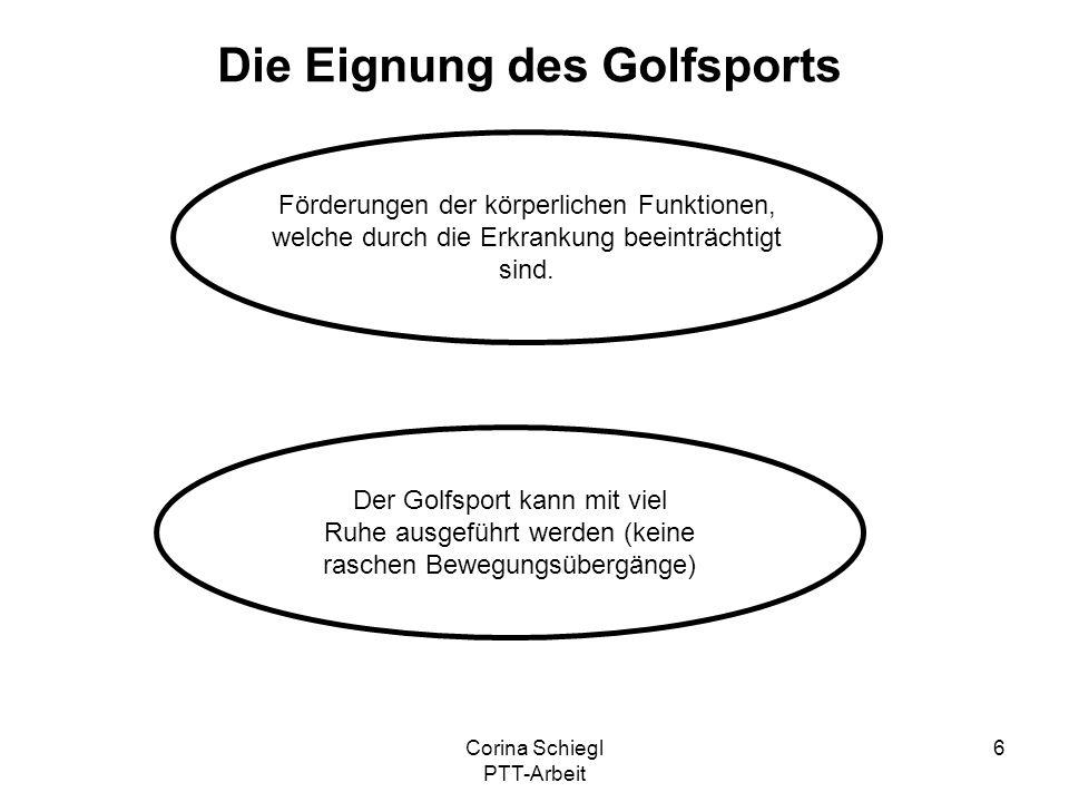 Die Eignung des Golfsports