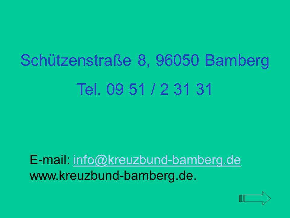 Schützenstraße 8, 96050 Bamberg
