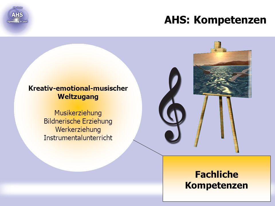Kreativ-emotional-musischer