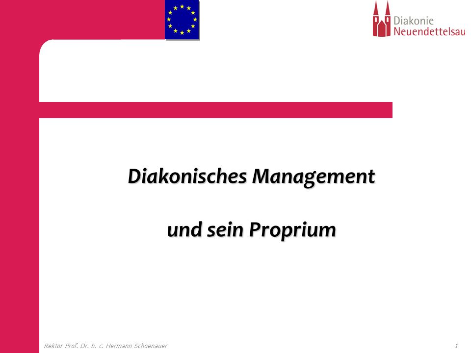 Diakonisches Management