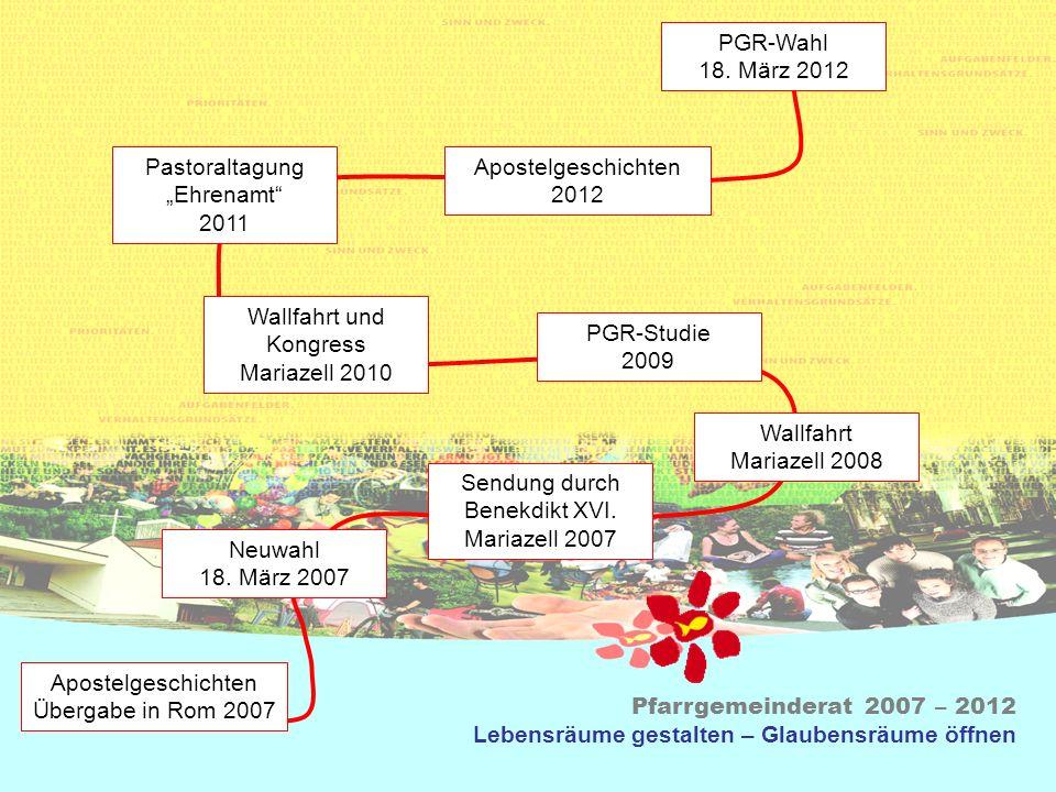 """Pastoraltagung """"Ehrenamt 2011 Apostelgeschichten 2012"""