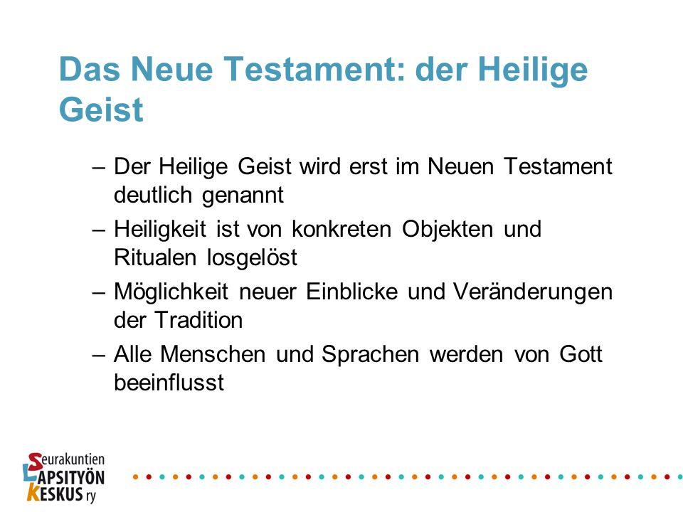Das Neue Testament: der Heilige Geist