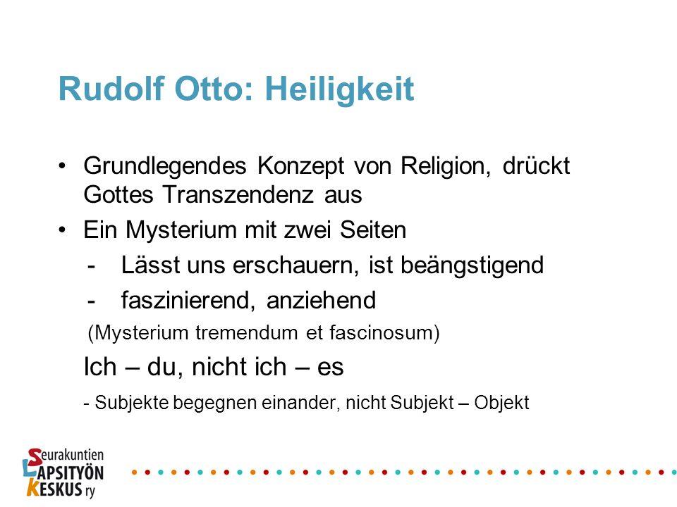 Rudolf Otto: Heiligkeit