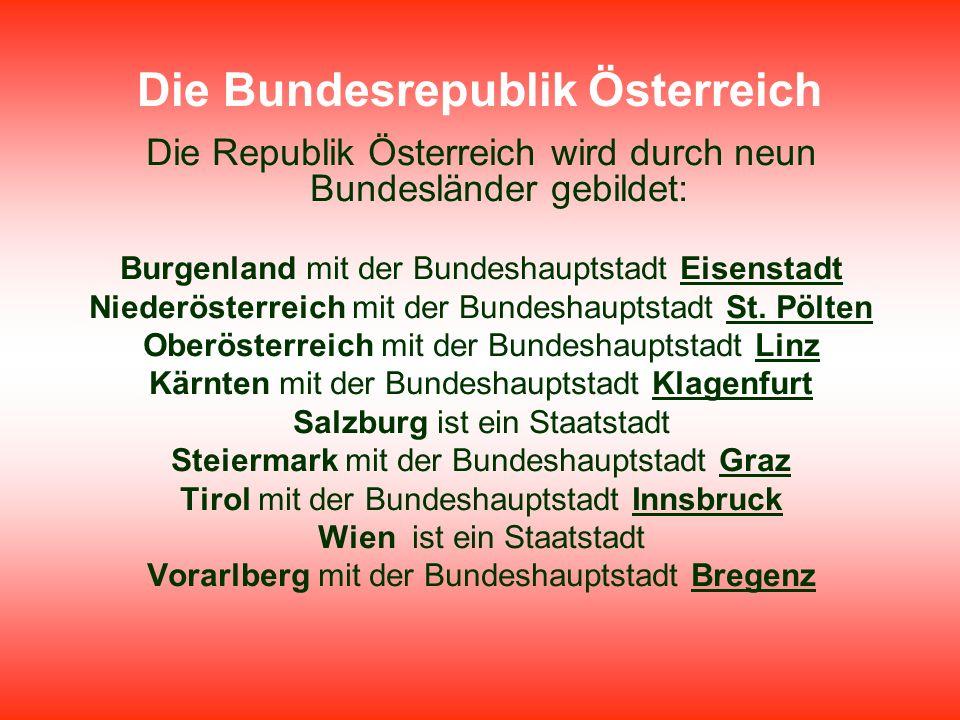 Die Bundesrepublik Österreich