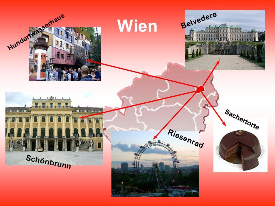 Wien Belvedere Hundertwasserhaus Sachertorte Riesenrad Schönbrunn