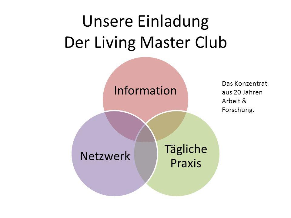Unsere Einladung Der Living Master Club