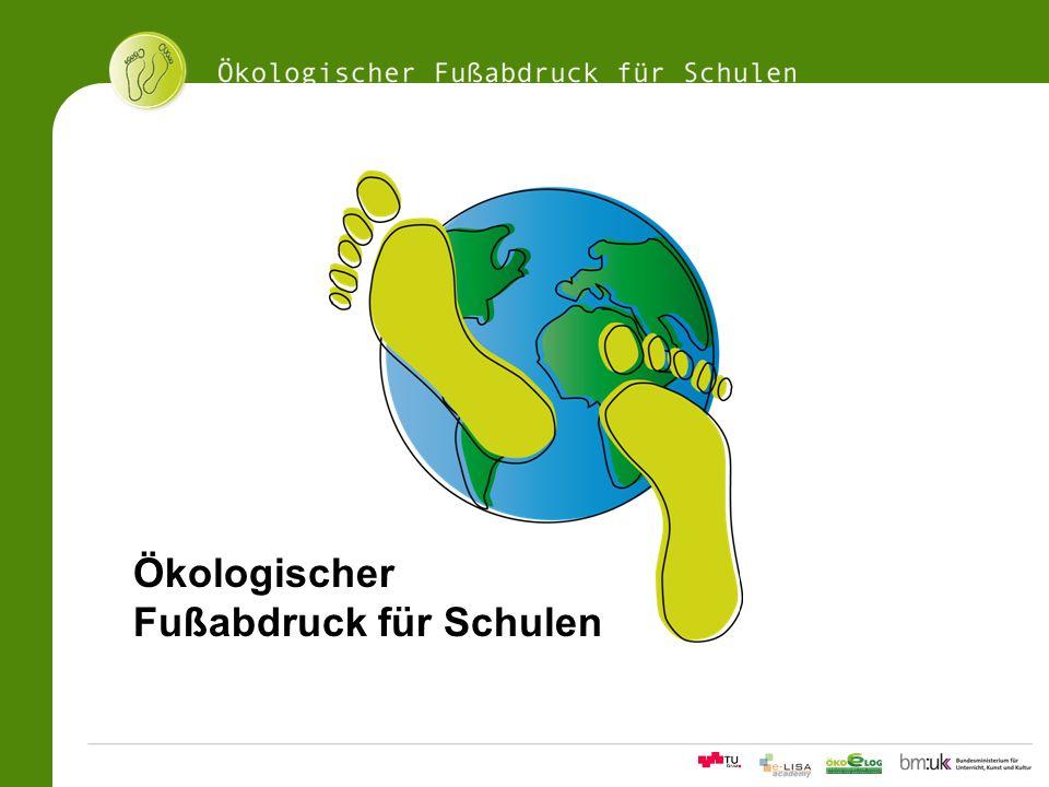 Ökologischer Fußabdruck für Schulen
