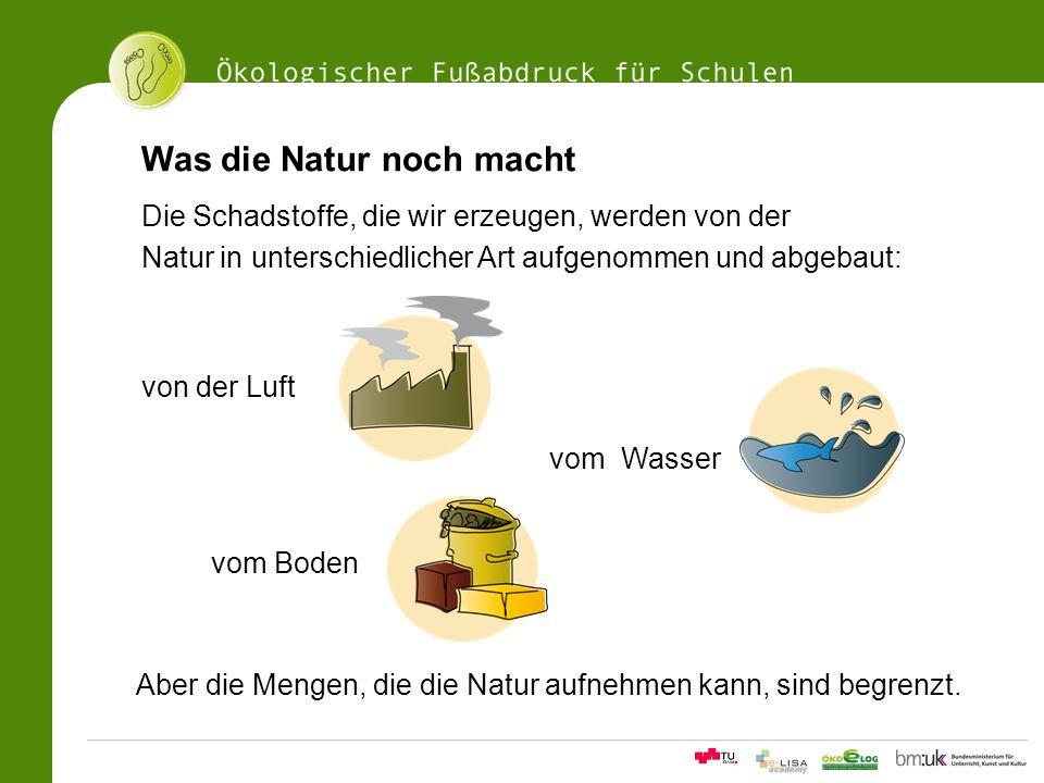 Was die Natur noch macht