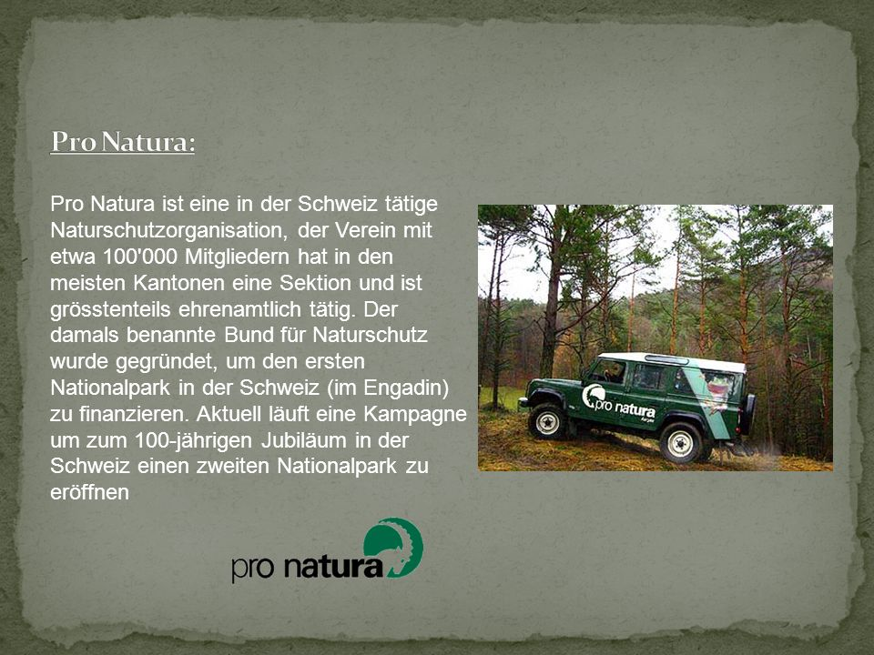 Pro Natura: