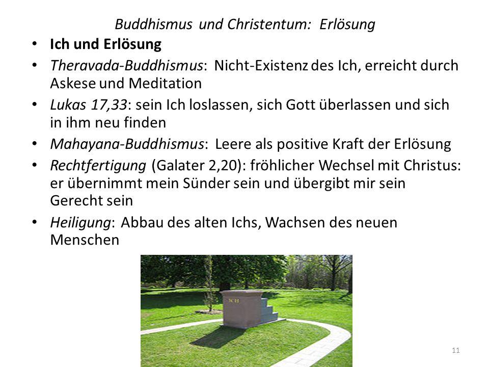 Buddhismus und Christentum: Erlösung
