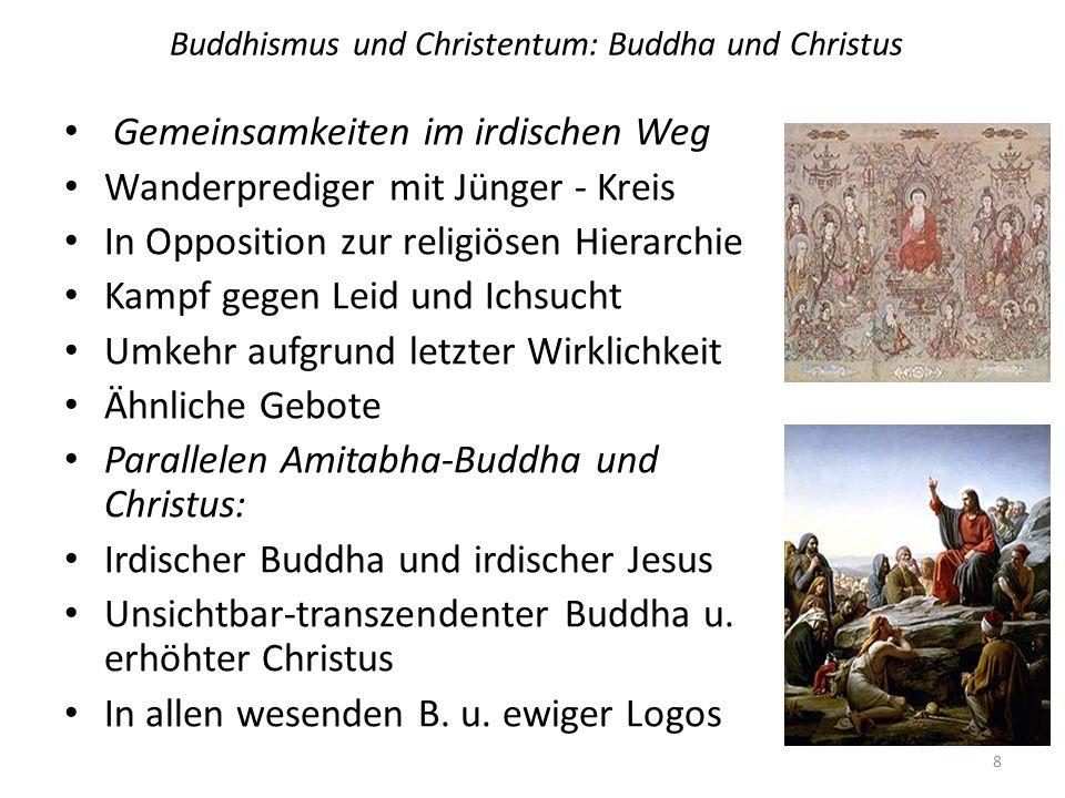 Buddhismus und Christentum: Buddha und Christus