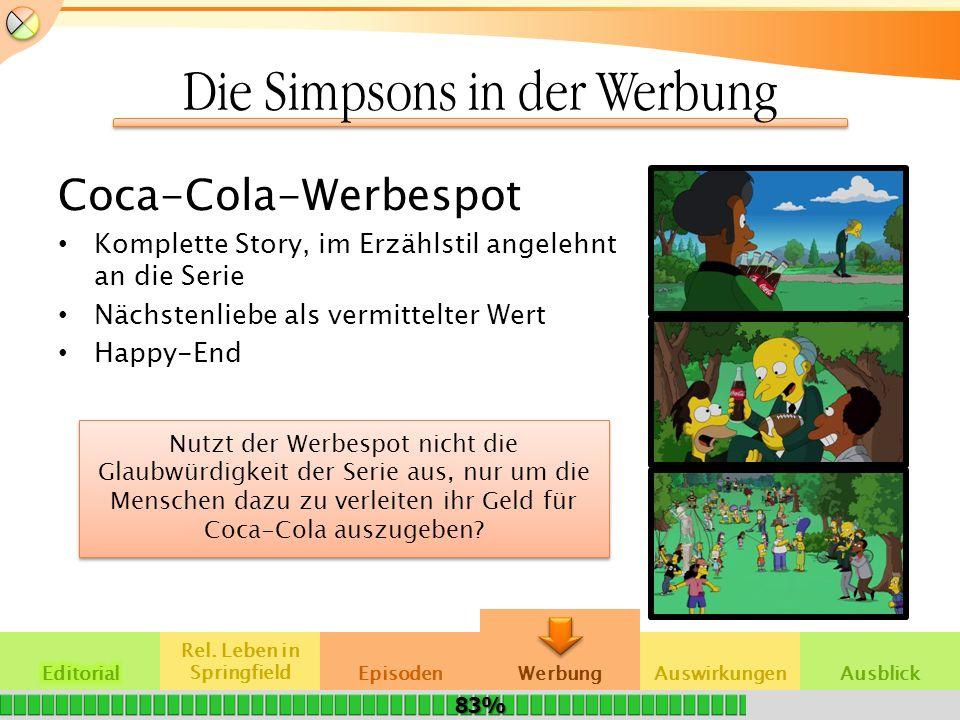 Die Simpsons in der Werbung