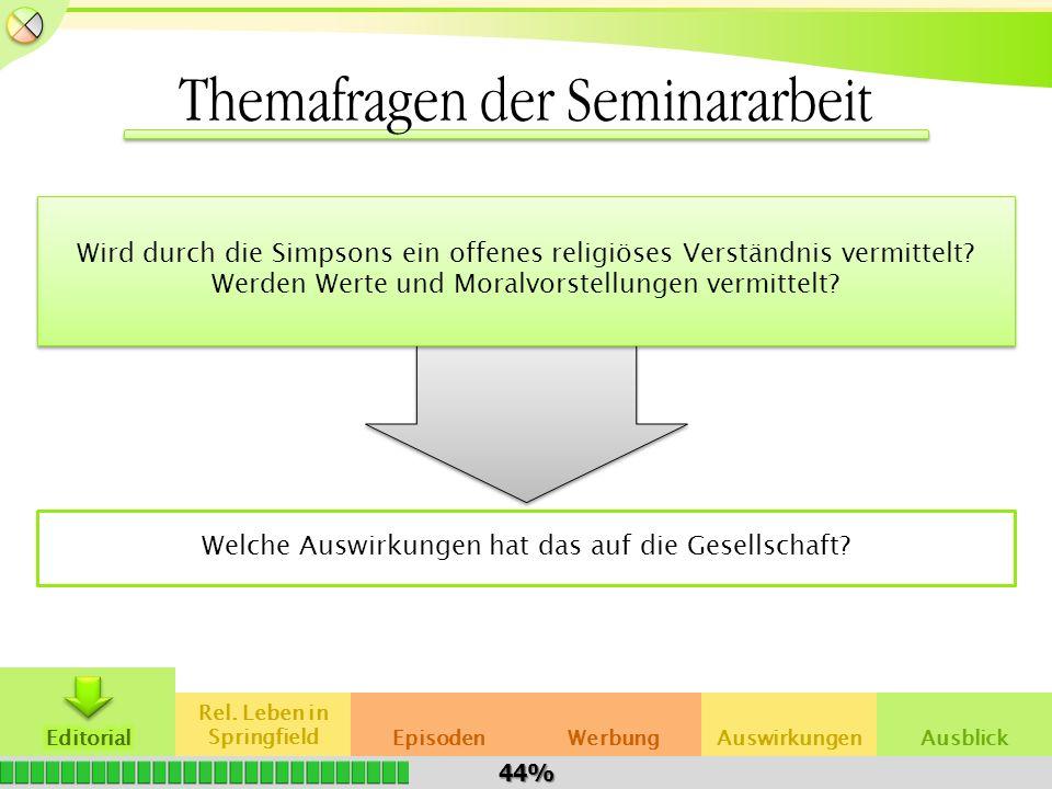 Themafragen der Seminararbeit