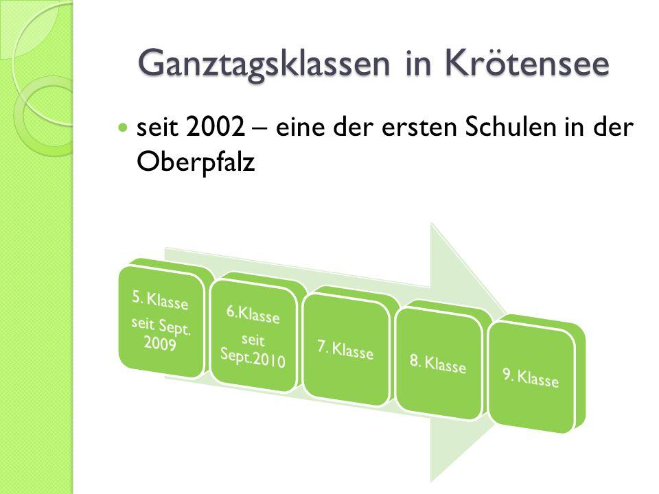 Ganztagsklassen in Krötensee