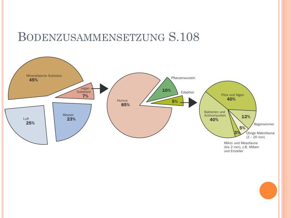 Bodenzusammensetzung S.108