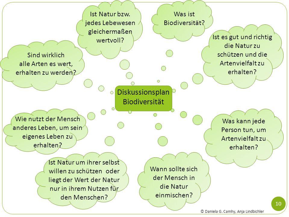 Diskussionsplan Biodiversität