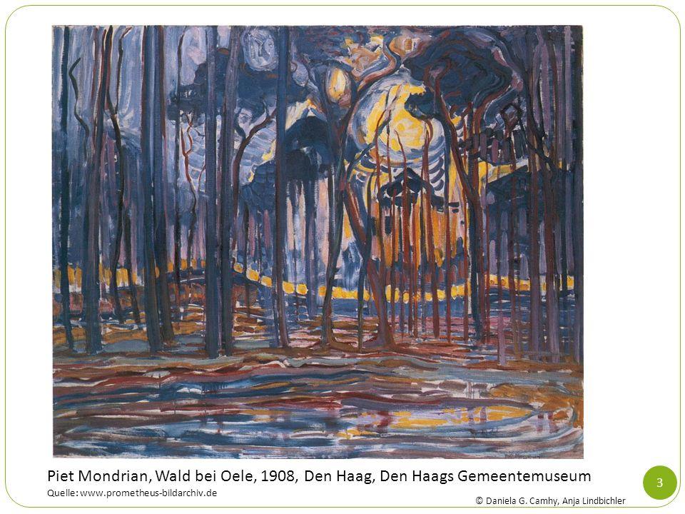 Piet Mondrian, Wald bei Oele, 1908, Den Haag, Den Haags Gemeentemuseum Quelle: www.prometheus-bildarchiv.de
