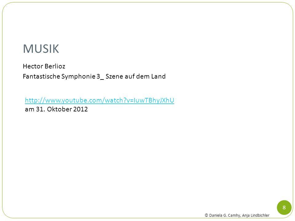 Musik Hector Berlioz Fantastische Symphonie 3_ Szene auf dem Land
