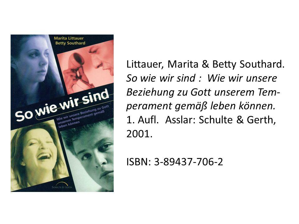 Littauer, Marita & Betty Southard.