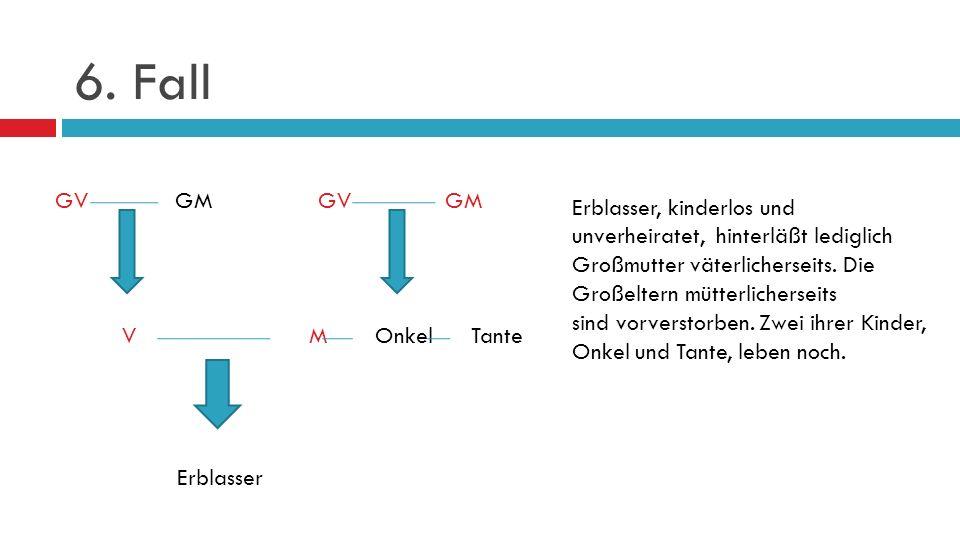 6. Fall GV GM GV GM.