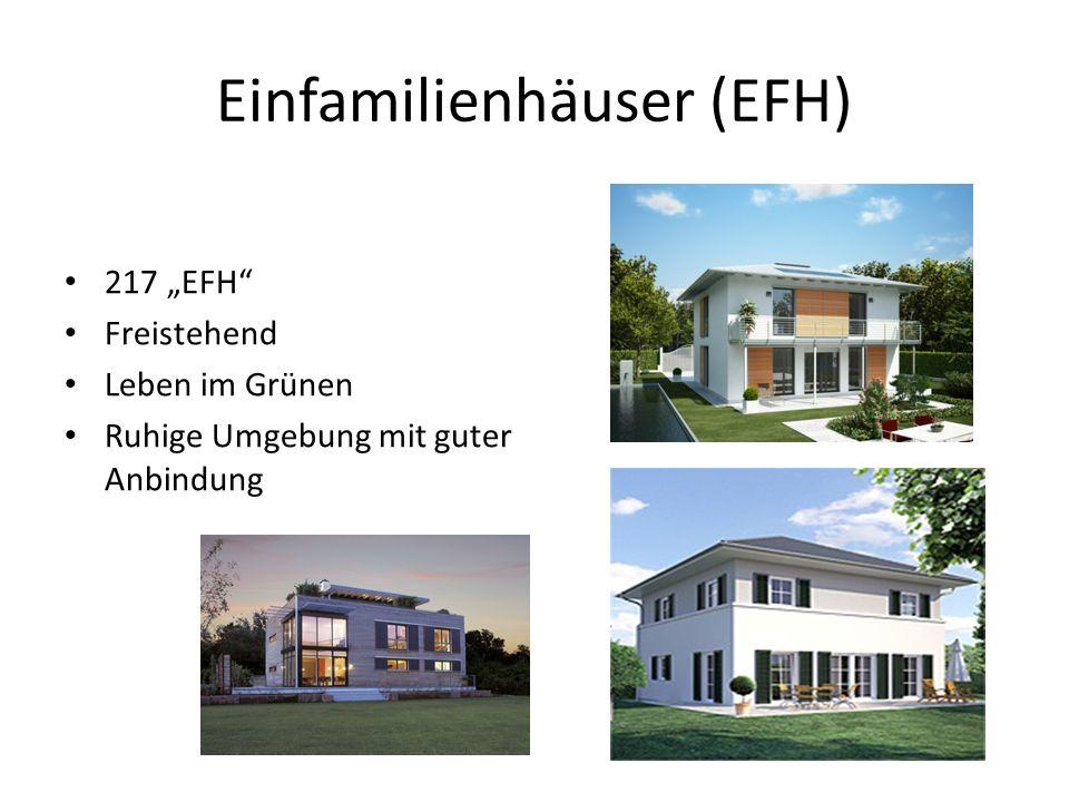 Einfamilienhäuser (EFH)