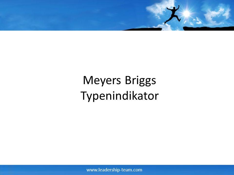 Meyers Briggs Typenindikator