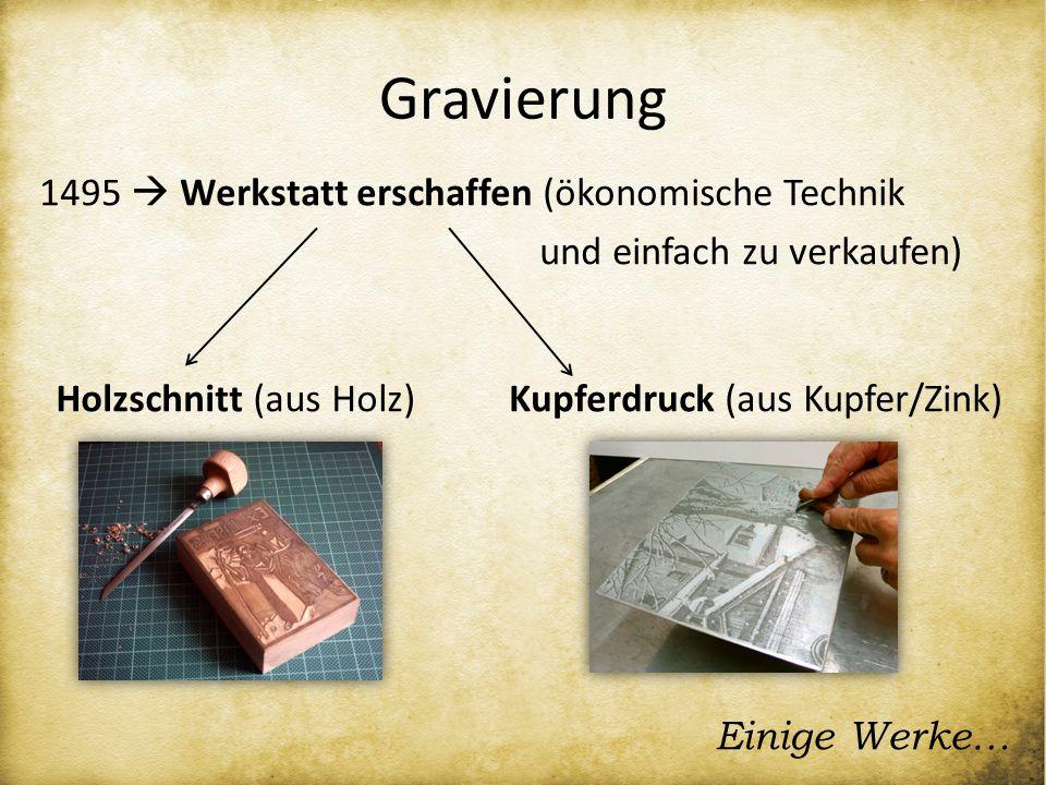 Gravierung 1495  Werkstatt erschaffen (ökonomische Technik und einfach zu verkaufen) Holzschnitt (aus Holz)