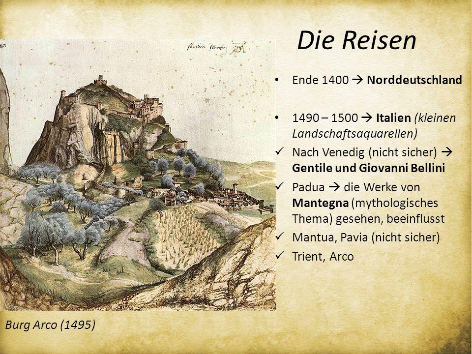 Die Reisen Ende 1400  Norddeutschland