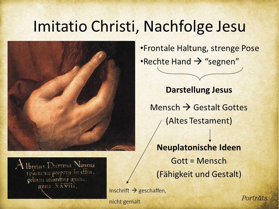 Imitatio Christi, Nachfolge Jesu