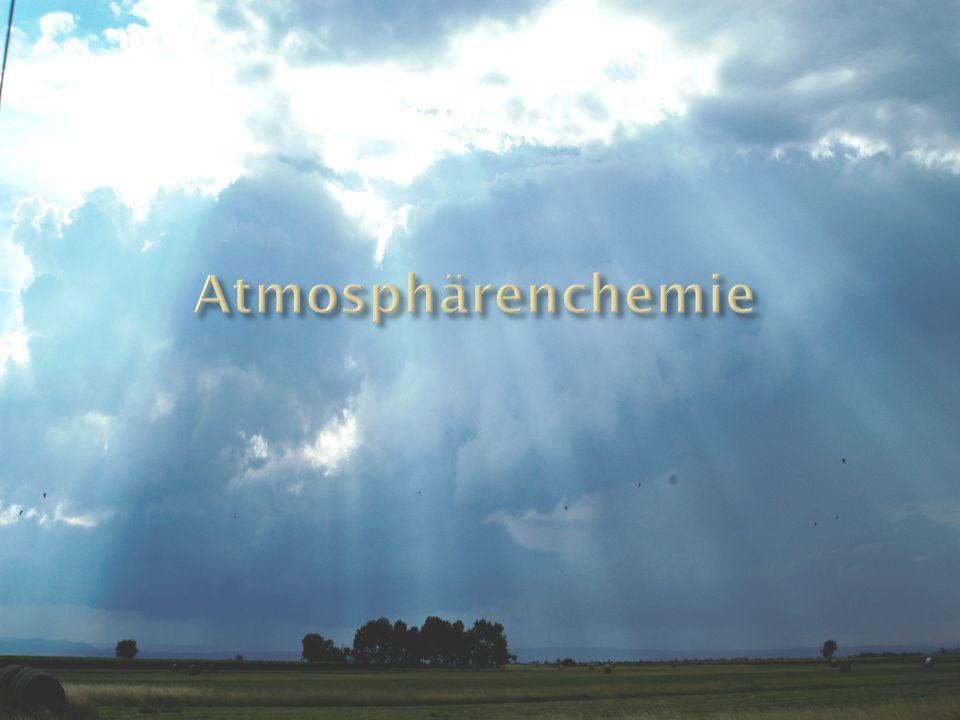 Atmosphärenchemie