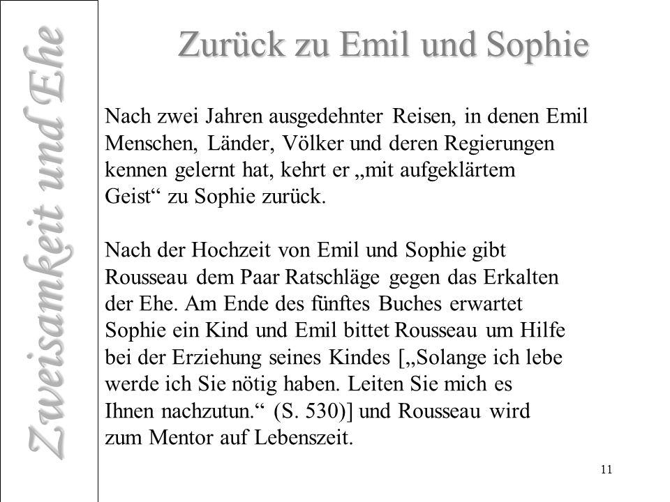 Zurück zu Emil und Sophie