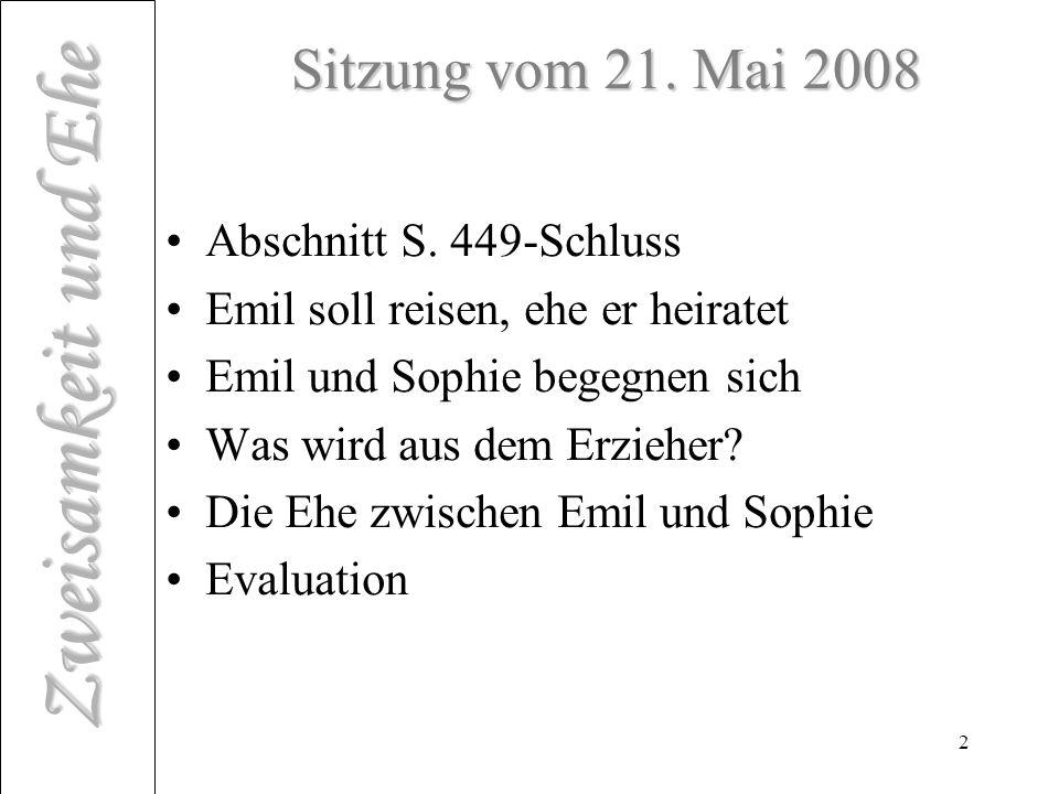 Sitzung vom 21. Mai 2008 Abschnitt S. 449-Schluss