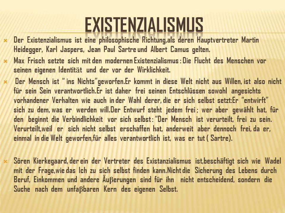 exIstenzIalIsmus