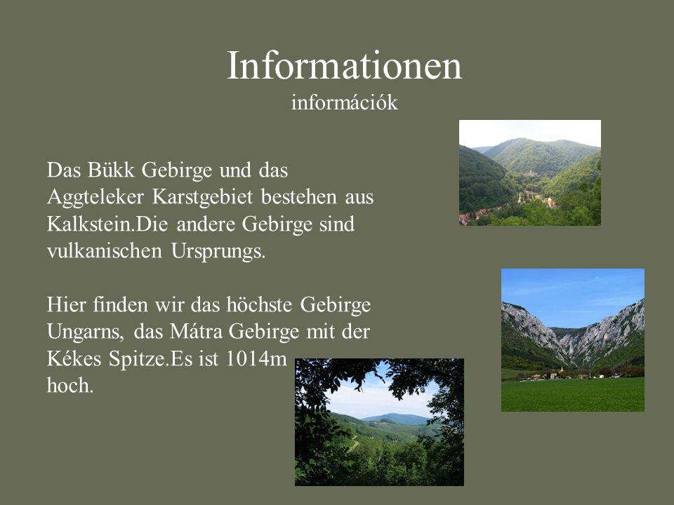 Informationen információk