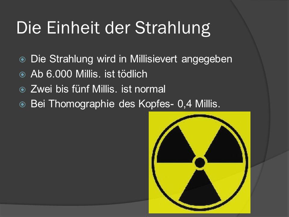 Die Einheit der Strahlung