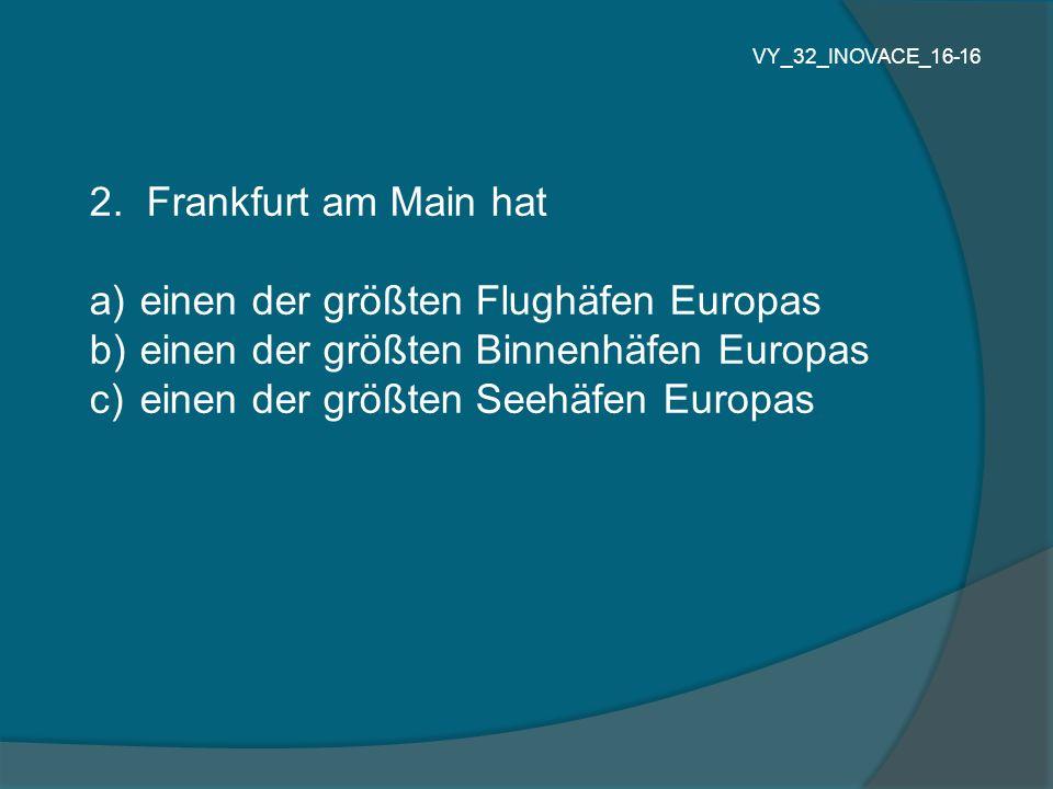 einen der größten Flughäfen Europas